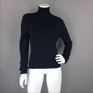 Mossimo Large 100% Merino Wool Black